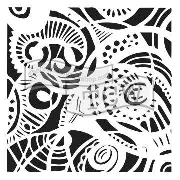 Šablona TCW -  Free Swirl