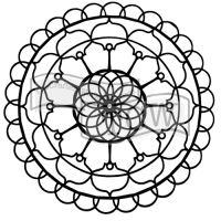 """Šablona 6""""x6"""" , Fantasy sphere, mini"""