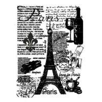 Rýžový papír A3 - černobílá Paříž