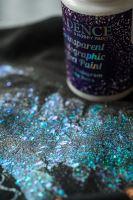 Barva s průhledným holografickým efektem, 90 ml
