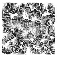 "Šablona 6""x6"" (15,2 x 15,2 cm), Lush Petals"