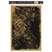 Zlatá nažehlovací nálepka, 21x30 cm, zlatý prach