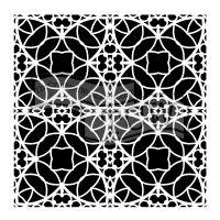 "Šablona TCW 6""x6"" (15,24 x 15,24 cm), Spanish Tile"