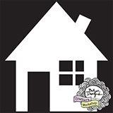 "Šablona 4""x4"" , House Bits"