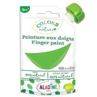 Prstové barvy, ColorsNature, 80ml - zelená