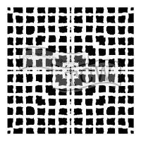 "Šablona TCW 6""x6"" (15,24 x 15,24 cm), Mesh Blocks"