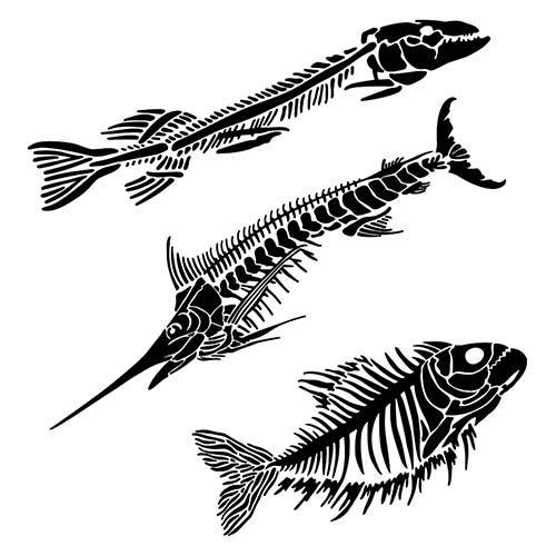 Šablona TCW -  Fish Fossils