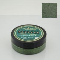 3D metalická textilní pasta, 50 ml - zelená
