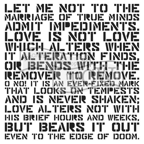 Šablona TCW -  Love Sonnet