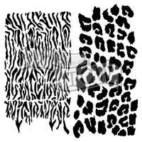 """Šablona 6""""x6"""" , Wild Prints, mini"""