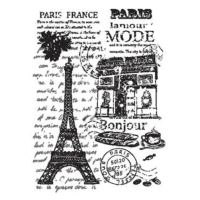Rýžový papír A3 - černobílá Francie