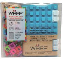 Kreativní deník WAFF, velikost A6, aqua
