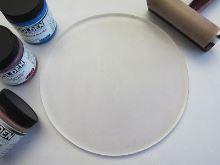 Gelli plate gelová podložka, kruh 6