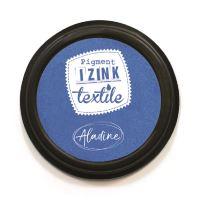 Razítkovací polštářek na textil Izink - nebeská modrá