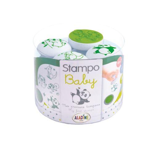 Razítka pro nejmenší Stampo BABY - Zvířátka z daleka 1