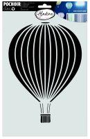 Šablona, balón, 20x30cm