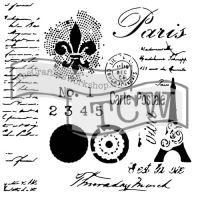 Šablona TCW -  Carte postale Paris