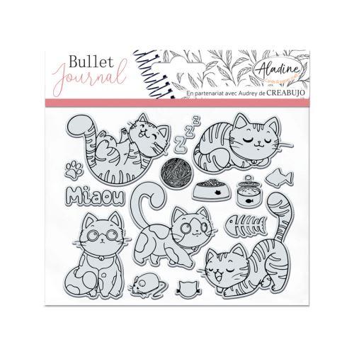Gelová diářová razítka - Kočky