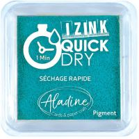 Razítkovací polštářek Izink Quick Dry, rychle schnoucí - azurová modrá