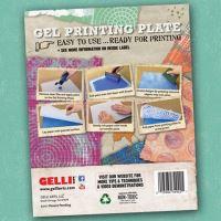 Gelli plate gelová podložka 3