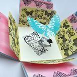 Exloding box - luxusní krabička na dárečky