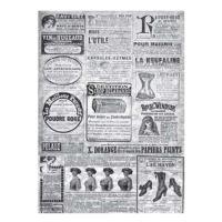 Rýžový papír A3 - černobílé noviny