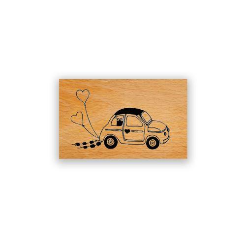 Dřevěné razítko - Mimi des maries 1