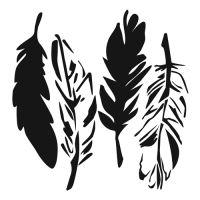 Šablona TCW -  4 Feathers