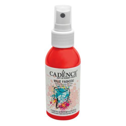 Textilní sprej, 100ml - jahodová červená