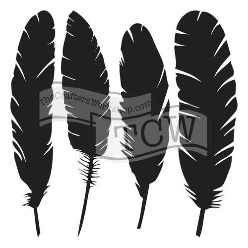 Šablona TCW -  Four feathers