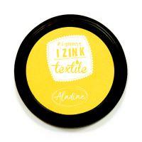 Razítkovací polštářek na textil Izink - žlutý