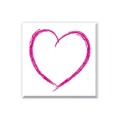 Dřevěné razítko - Srdce 1