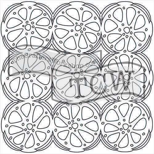 Šablona TCW -  Orange slices