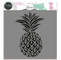 Aladine šablona, 28x28cm - ananas