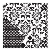 Šablona Cadence, kolekce HomeDeco 25x25 cm - ornamenty 4