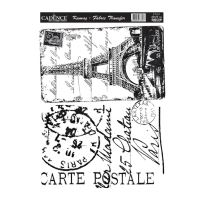 Nažehlovací nálepka, 25x35cm - Paříž