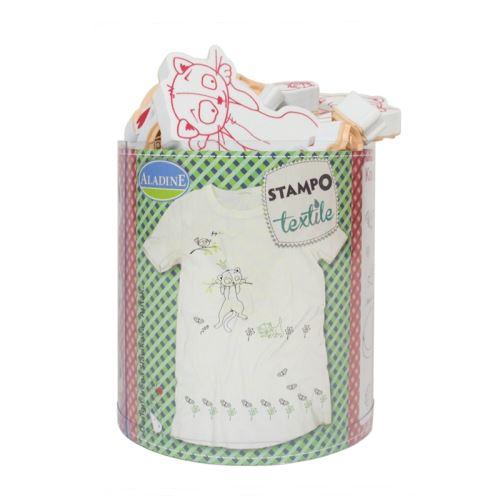 Razítka na textil StampoTextile - Kočky
