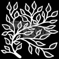 """Šablona 12""""x12"""" (30,5 x 30,5 cm), Solemn Branch"""