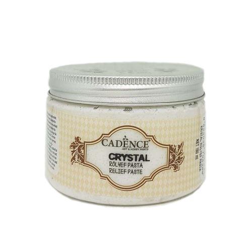 3D pasta průhledná krystalová