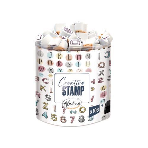 Razítka Stampo Scrap - Tři abecedy 1