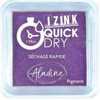 Razítkovací polštářek Izink Quick Dry, rychle schnoucí - fialová