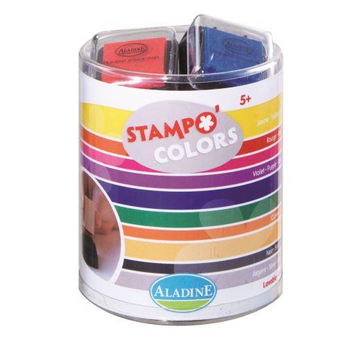 Razítkovací polštářky KidsColors - základní barvy
