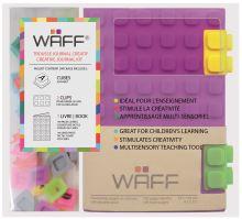 Kreativní deník WAFF, velikost A6, purple