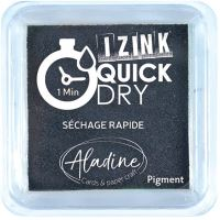 Razítkovací polštářek Izink Quick Dry, rychle schnoucí - černá