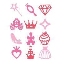 StampoPaint, malovací pěnová razítka - princezny