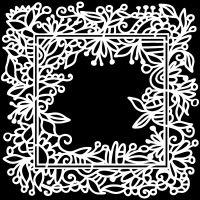"Šablona 6""x6"" (15,2 x 15,2 cm), Garden Frame"