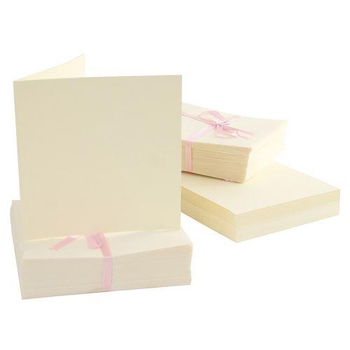 Základy přání a obálky 13x13, 100ks (240g/m2)