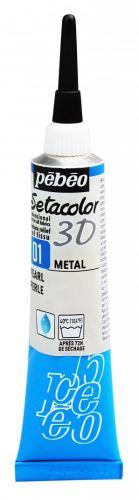 Textilní kontura metal, 20ml - metalická