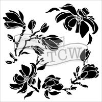 Šablona TCW -  Magnolia Blossoms