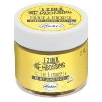 Embosovací prášek Aladine, 25 ml - pastelová žlutá